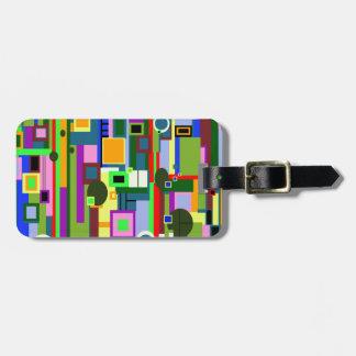 Modern Design Luggage Tag