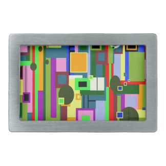 Modern Design Rectangular Belt Buckle