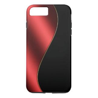 Modern Design Red Gold Black Gloss Metal Textured Case-Mate iPhone Case