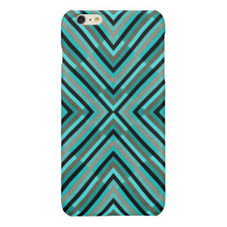 Modern Diagonal Checkered Shades of Green Pattern