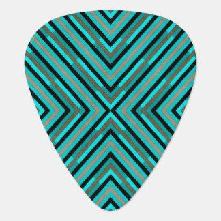 Modern Diagonal Checkered Shades of Green Pattern Pick