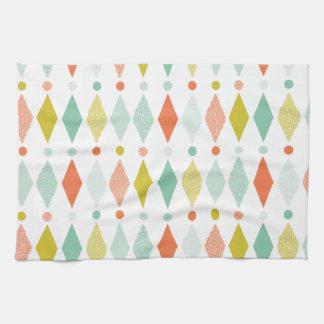 Modern Diamond pattern Kitchen Towel