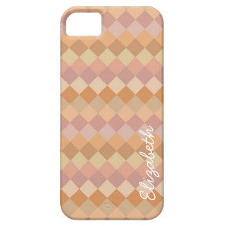 Modern Diamond Pattern   Mosaic Abstract Art iPhone 5 Case