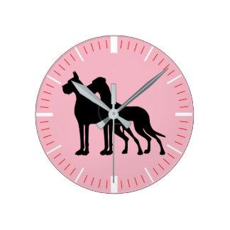 Modern Doggen clock