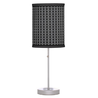 Modern_Dots-Silver-Black-Deco-Accent_ Table Lamp