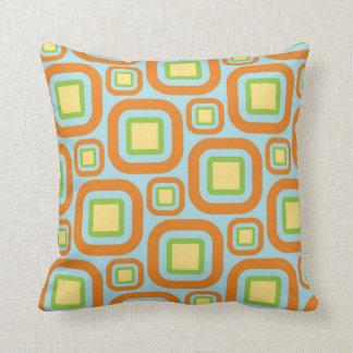 Modern Eames Rectangles 28 Throw Pillow