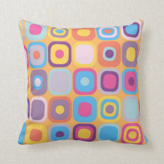Modern Eames Rectangles 31 Throw Pillow