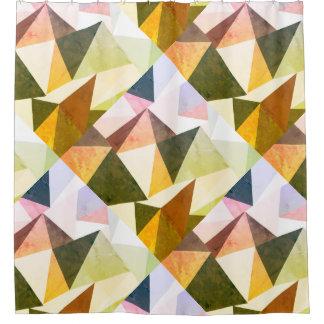 Modern Earth Tones Geometric Pyramids
