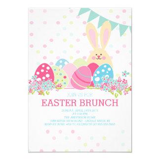 Modern Easter Brunch Dinner Party Invitation