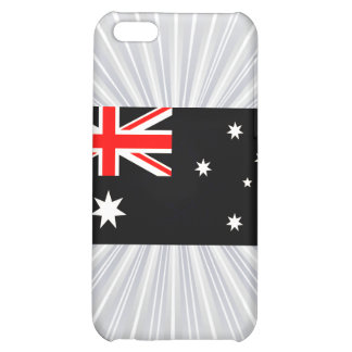 Modern Edgy Australian Flag Cover For iPhone 5C