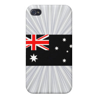 Modern Edgy Australian Flag Covers For iPhone 4