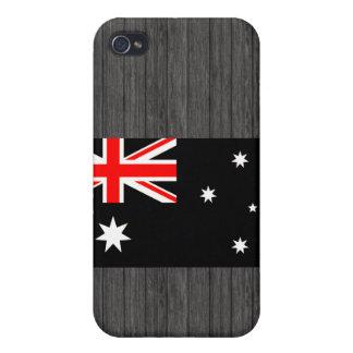 Modern Edgy Australian Flag iPhone 4 Cases
