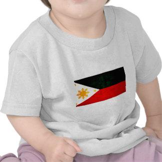 Modern Edgy Filipino Flag Tshirt