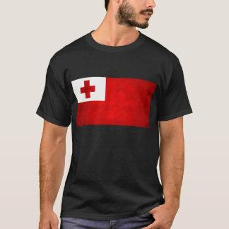 Modern Edgy Tongan Flag T-Shirt