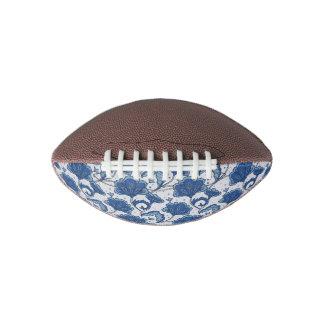 Modern Elegant blue batik pattern Football