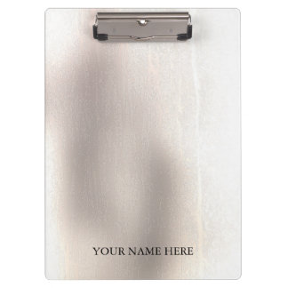 Modern Elegant Gradient Ombre Personalized Clipboard