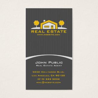 Modern Elegant Professional Real Estate Business Card