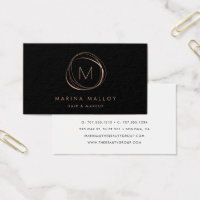 Hair and makeup business cards business card printing zazzle ca hair and makeup business cards modern faux rose gold abstract colourmoves Images
