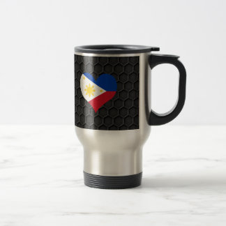 Modern Filipino flag Travel Mug
