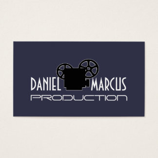 Modern Film Productions, Videographer Business Card