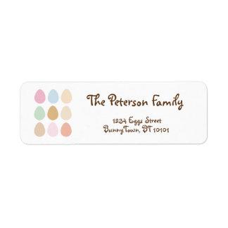 modern fine pastel easter eggs