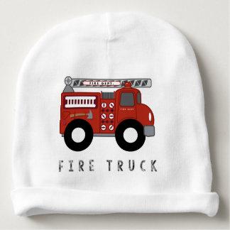 Modern Fire Truck Kid's Design Baby Beanie