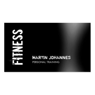 Personal training business cards and business card for Sample personal trainer business cards
