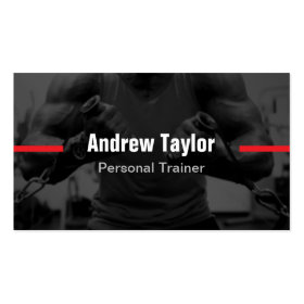 Modern Fitness Training Personal Trainer