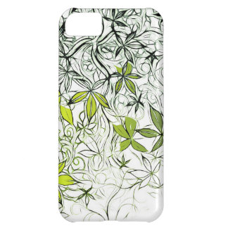 Modern Floral Background 234 Case For iPhone 5C