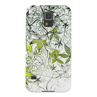 Modern Floral Background 234 Galaxy S5 Cover