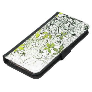 Modern Floral Background 234 Samsung Galaxy S5 Wallet Case