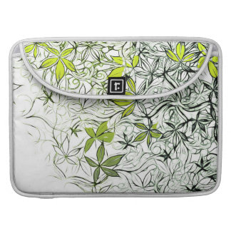 Modern Floral Background 234 Sleeve For MacBook Pro