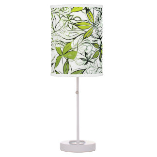 Modern Floral Background 234 Table Lamp