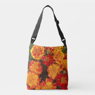 Modern Floral Crossbody Bag