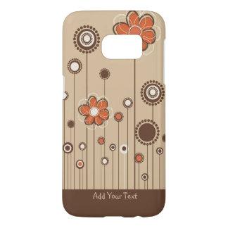 Modern Floral Custom Samsung Galaxy S7 Case