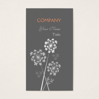 Modern Floral Elegant Fancy Dream Professional Business Card