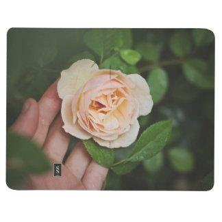 modern floral habit tracker bullet journal