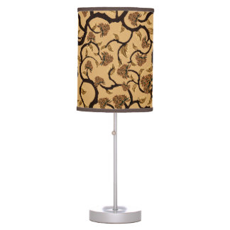 Modern Floral Pattern 401 Table Lamp