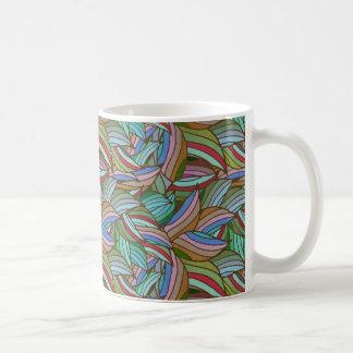 Modern Floral Pattern 778 Coffee Mug