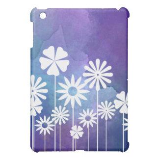 Modern Floral Purple iPad Case