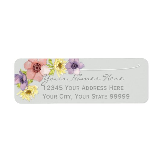 Modern Floral Rustic Lettered Typography Spring