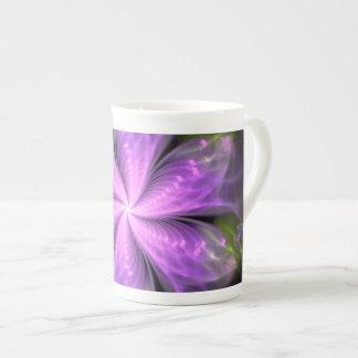 Modern Flower Fractal Mandala Teacup Tea Cup