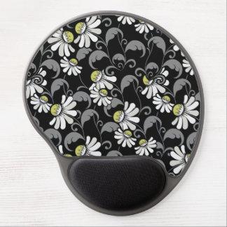 Modern Flower Pattern 362 Gel Mouse Pad