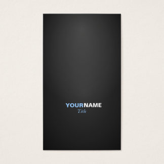 Modern font in two colors with 2 business card