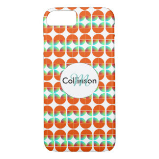 Modern Fresh Stylish Repeat Patterned Design iPhone 7 Case