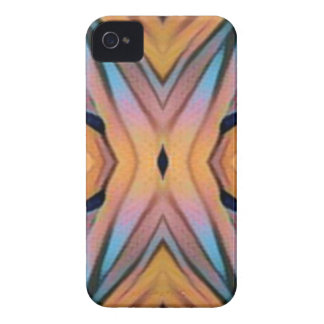 Modern Funky Neutral Pastel Abstract Pattern iPhone 4 Cases
