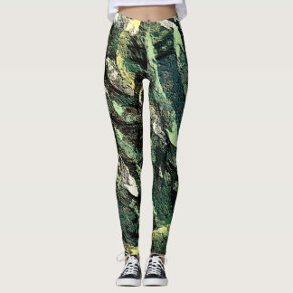 modern Garbage by rafi talby Leggings