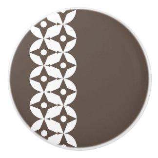Modern Geo Pattern 837 Ceramic Knob