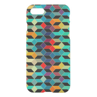 Modern Geometric Colorful Cubes Pattern 2a iPhone 8/7 Case