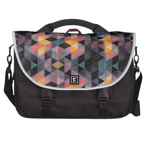 Modern Geometric Commuter Bag